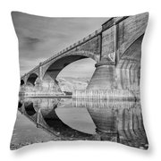 Reflecting Fernbridge Throw Pillow