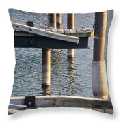 Reflecting Repetitions V2 Throw Pillow