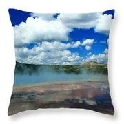 Reflecting Springs Throw Pillow