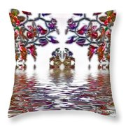 Reflecting Tranquility Throw Pillow