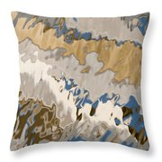 Reflection Abstraction- Two Throw Pillow