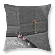 Reflection At The Wall II Throw Pillow