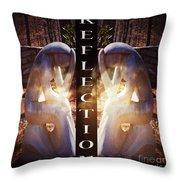 Reflection Throw Pillow by Eva Thomas