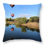 Reflection In Prosser Throw Pillow