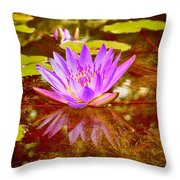 Reflection Of Beauty Throw Pillow