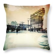 Reflection Of Colour  Throw Pillow