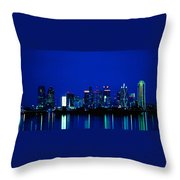 Reflection Of Dallas Throw Pillow