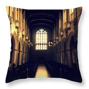 Reflection Of Light Throw Pillow