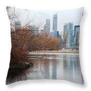 Reflection Of Love Throw Pillow