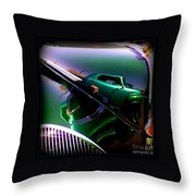 Reflection Of Reflections Throw Pillow