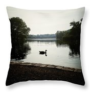 Reflection Of Serenity Throw Pillow by Natasha Marco