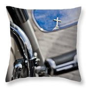 If Jesus Rode A Harley Throw Pillow