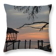 Reflection On Lake Throw Pillow