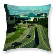 Reflection Or Reality Throw Pillow