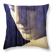 Reflection / The Philosophy Of Mind Throw Pillow