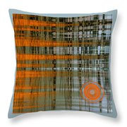 Reflection With Sun Throw Pillow