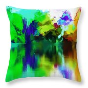 Reflections 012013 Throw Pillow