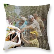 Reflections And Rememberance Throw Pillow