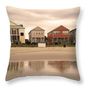Reflections At Sunrise Throw Pillow