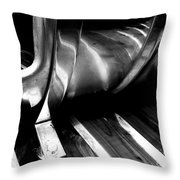 Reflections Bw Throw Pillow