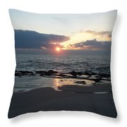 Reflections Cape May Point Throw Pillow