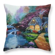 Reflections Cottage Throw Pillow