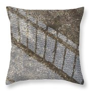 Reflections In Grey Throw Pillow
