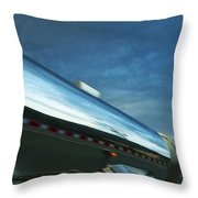 Reflections In The Passing Lane Throw Pillow