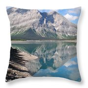 Reflections In Time Throw Pillow