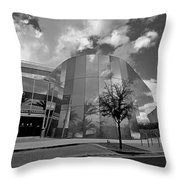 Reflections Of A Storm Throw Pillow