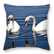 Reflections Of Elegance Throw Pillow