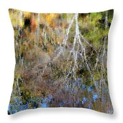 Reflections Of Fall 5 Throw Pillow