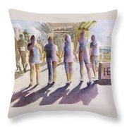 Reflections Of Friendship Throw Pillow