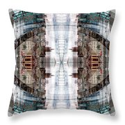 Reflections Of Gateshead 1 Throw Pillow