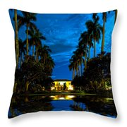Reflections Of Grandeur Throw Pillow