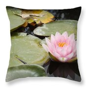 Reflections Of Lily Throw Pillow
