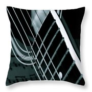 Reflections Of Music  Throw Pillow