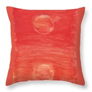 Reflections Of Pain Throw Pillow