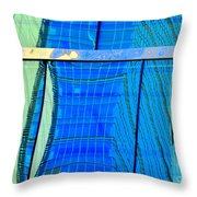 Reflections Of Seattle Throw Pillow