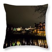 Reflections Of Taprock Throw Pillow
