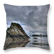 Reflections Of Tenby 2 Throw Pillow