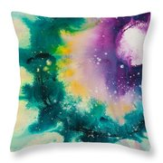 Reflections Of The Universe No. 2152 Throw Pillow