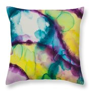Reflections Of The Universe Series No 1390 Throw Pillow