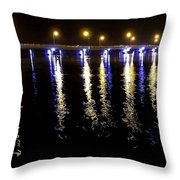 Reflections Of Time Past Throw Pillow