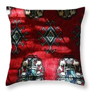 Reflections On A Persian Rug Throw Pillow