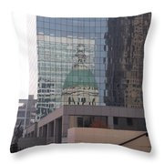 Reflections On The Past Throw Pillow