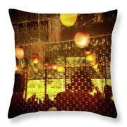 Reflections, Patterns And Silhouettes Throw Pillow
