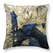 Reflections Upon The Shore Throw Pillow