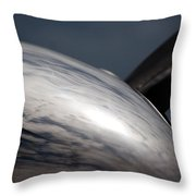 Reflective Power Throw Pillow