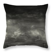 Refraction Throw Pillow